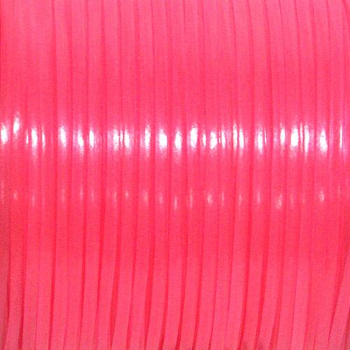 REXLACE 040 蓄光ピンク(ランヤード・クラフトレース素材)