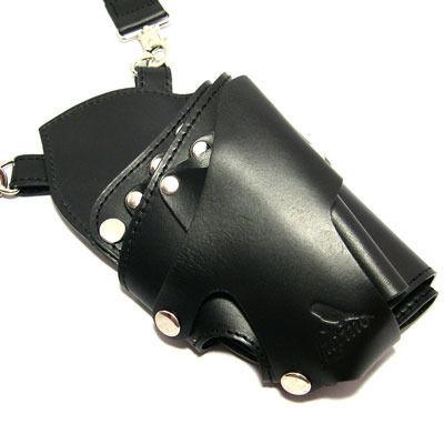 シザーケース LUTINO/ルチノー 5丁用 LU-SC01BK ブラック
