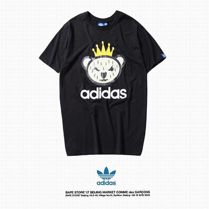 XWT-E02(1)?春夏新登場【美品】Adidas アディダス トップス/半袖/Tシャツ