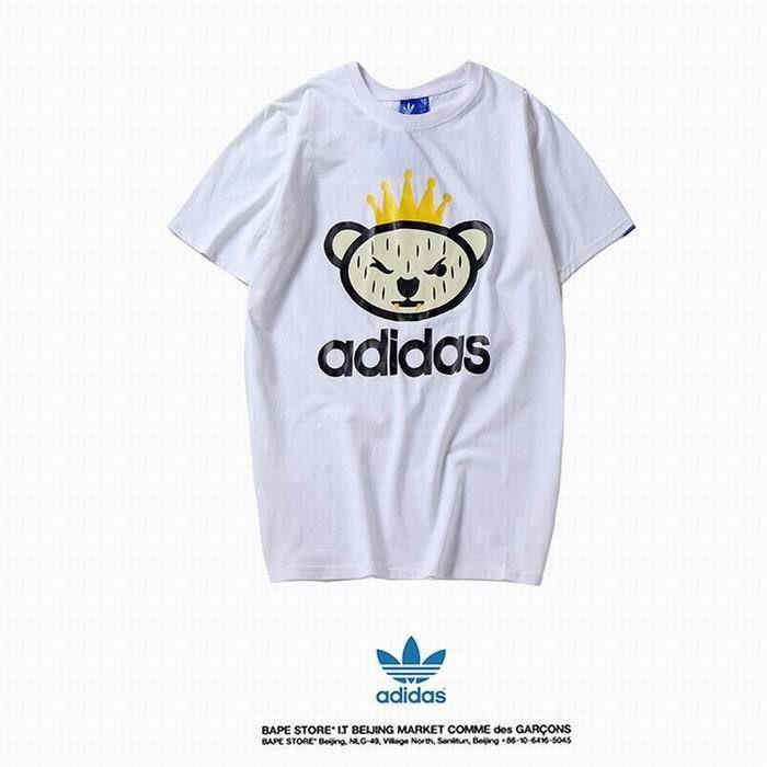 XWT-E02(2)?春夏新登場【美品】Adidas アディダス トップス/半袖/Tシャツ