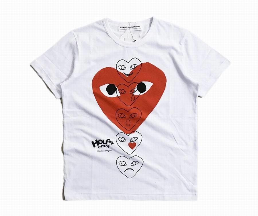 XWT-6? PLAY プレイ/COMME des GARCONS/コムデギャルソンハート/半袖Tシャツ