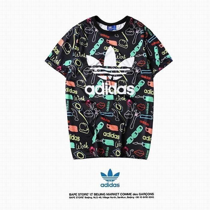 XWT-D09?春夏新登場【美品】Adidas アディダス トップス/半袖/Tシャツ