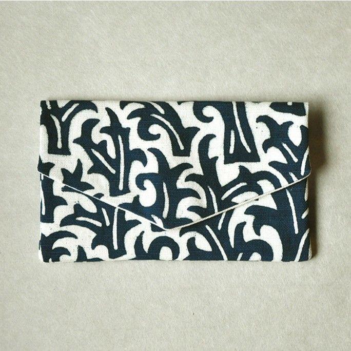 型染布ふくさ|生い茂る(単色)