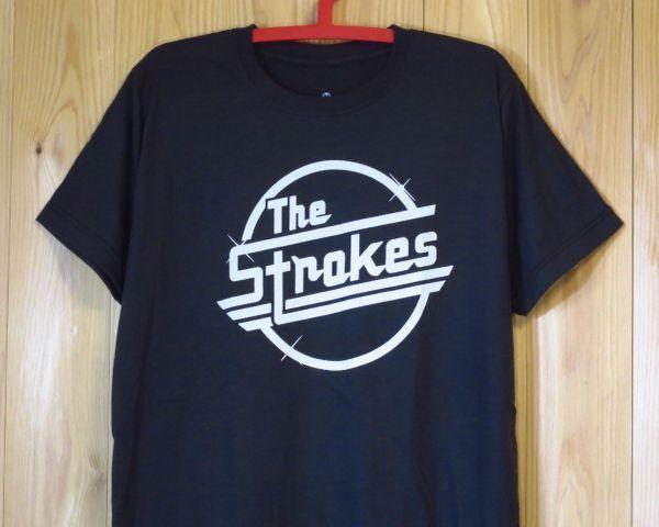 【The Strokes/ストロークス】ロックTシャツMグレー