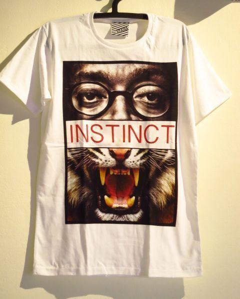 【Spike Lee/スパイク・リー】×虎パロディーTシャツ白Mサイズ