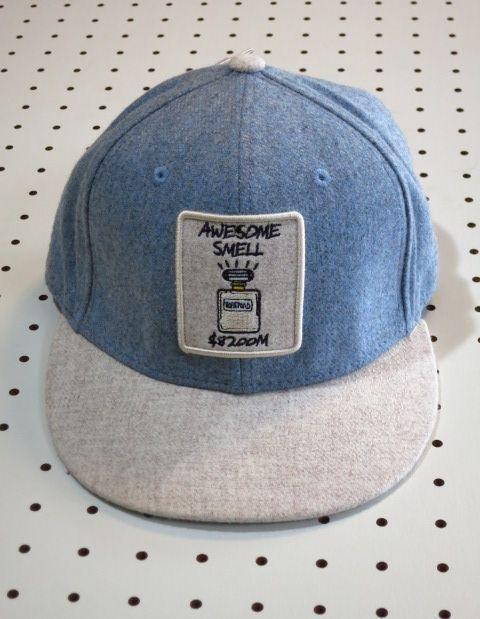 ベースボールキャップ 青 グレー ツートンカラー【Rabe Rand】フェルト帽 フェルトキャップ コットンキャップ アウトドアウェア ネット通販売 新品