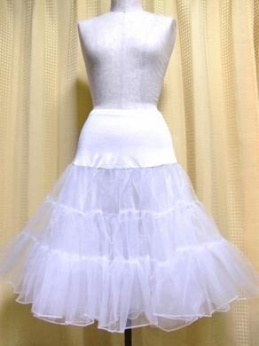 パニエショートドレス、パウスカート用フラダンス衣装65センチ