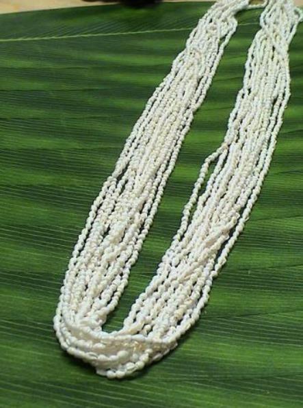 ハワイアンレイ,フラダンス衣装レイシェルレイロング12連