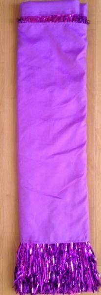 セロファンスカート,チューブトップ,スカートカバーセット 紫