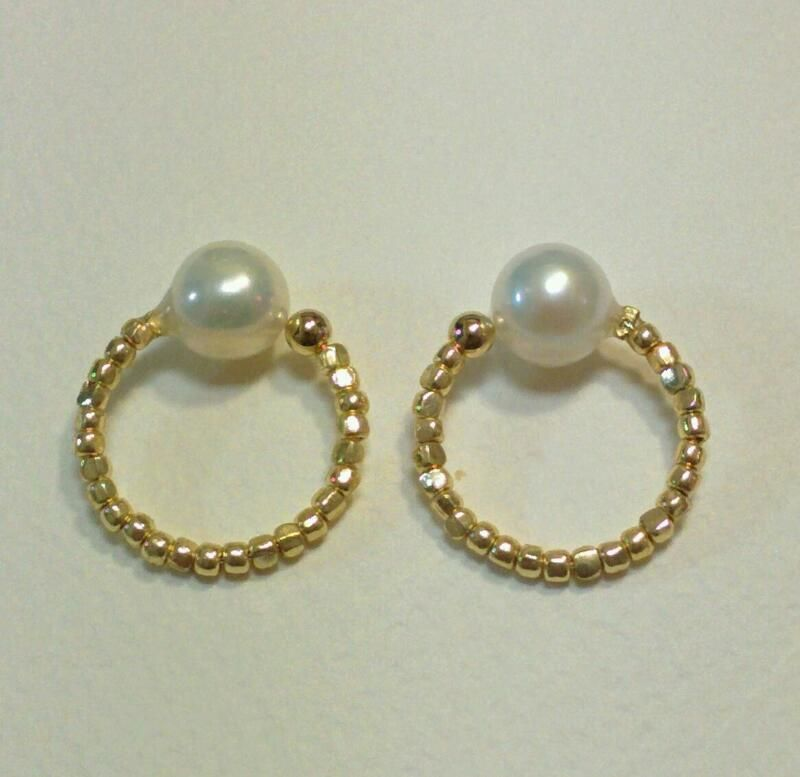 earrings「FEMME」pearl