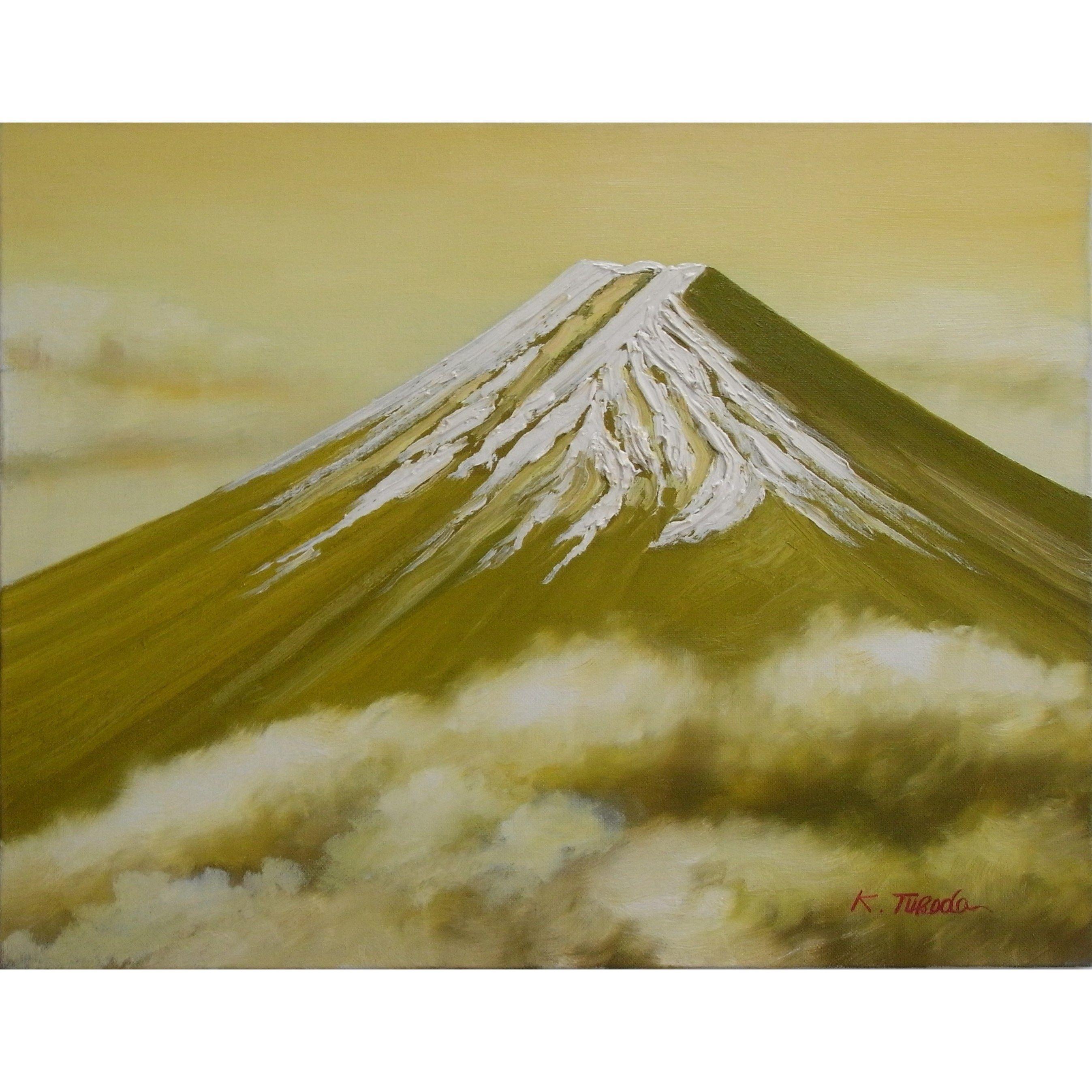 富士山 (F6号)