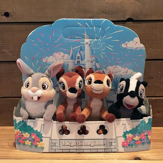 Disney Bambi Plush Set/ディズニー バンビ ぬいぐるみセット/180418-1
