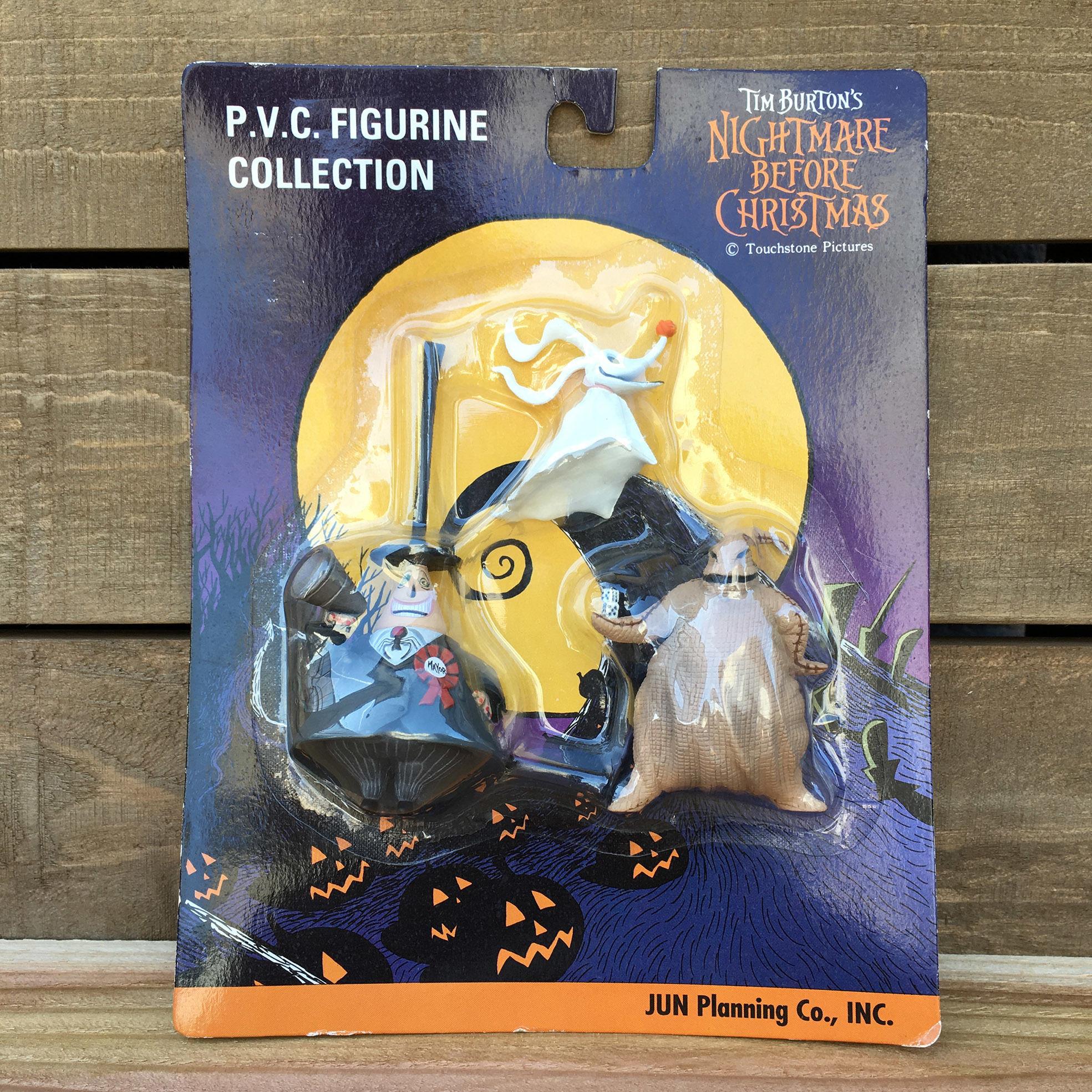 NIGHTMARE BEFORE CHRISTMAS PVC Figure Set/ナイトメアビフォアクリスマス PVCフィギュアセット/161119-11