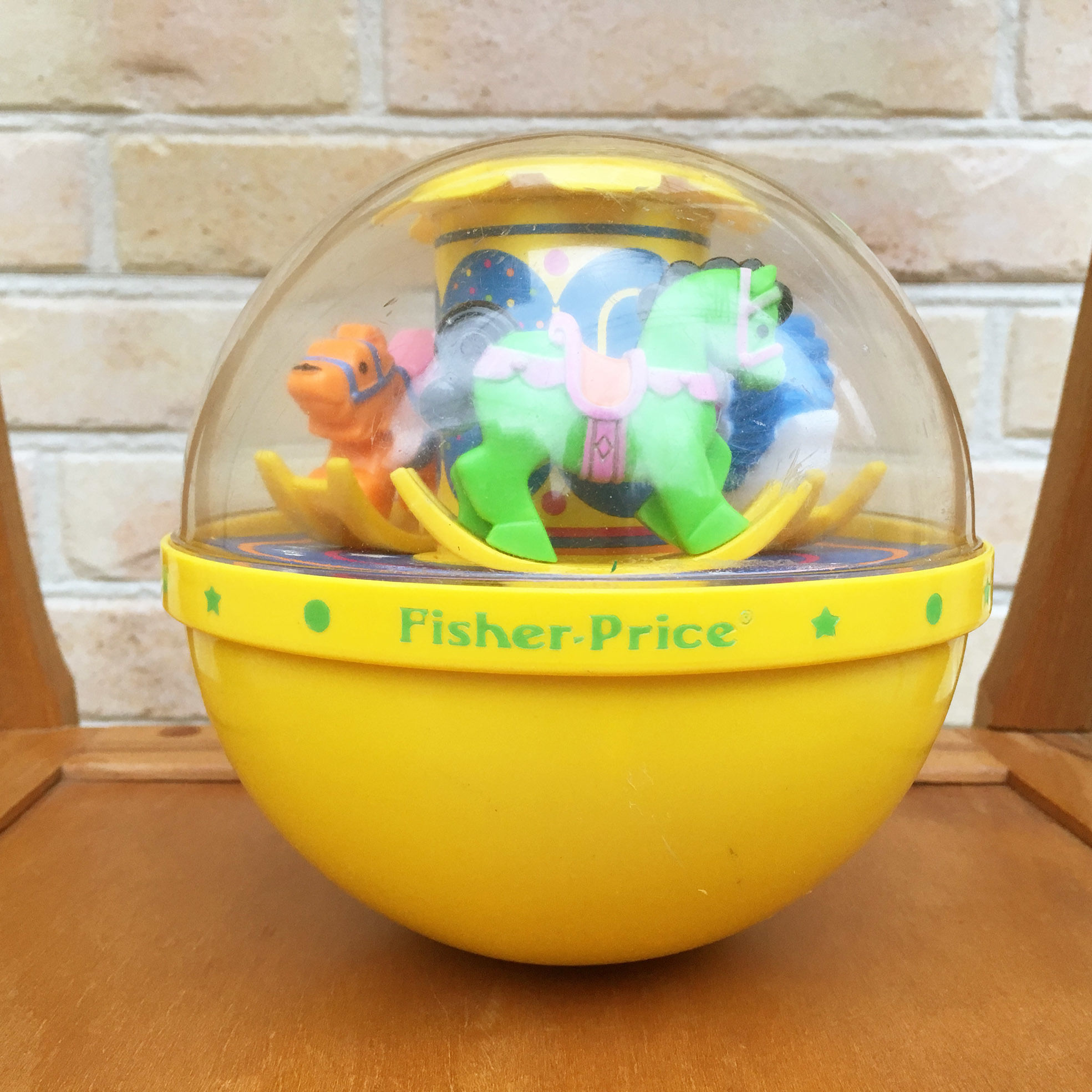 Fisher Price Rolly Poly Chime Bell/フィッシャープライス ローリーポーリー・チャイムベル/171205-1
