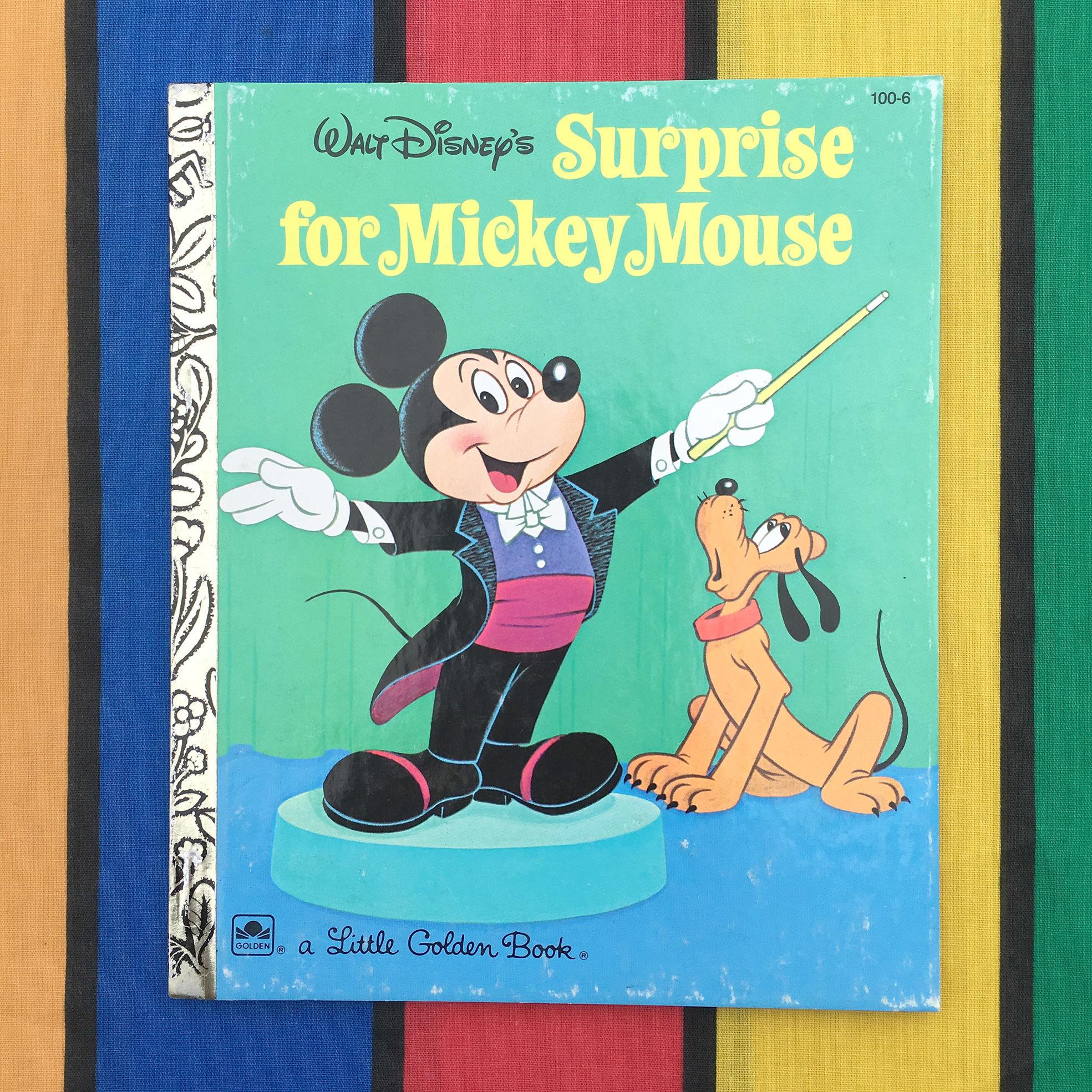 Disney Surprise for Mickey Mouse/ディズニー ミッキー・マウスへサプライズ 絵本/160727-11