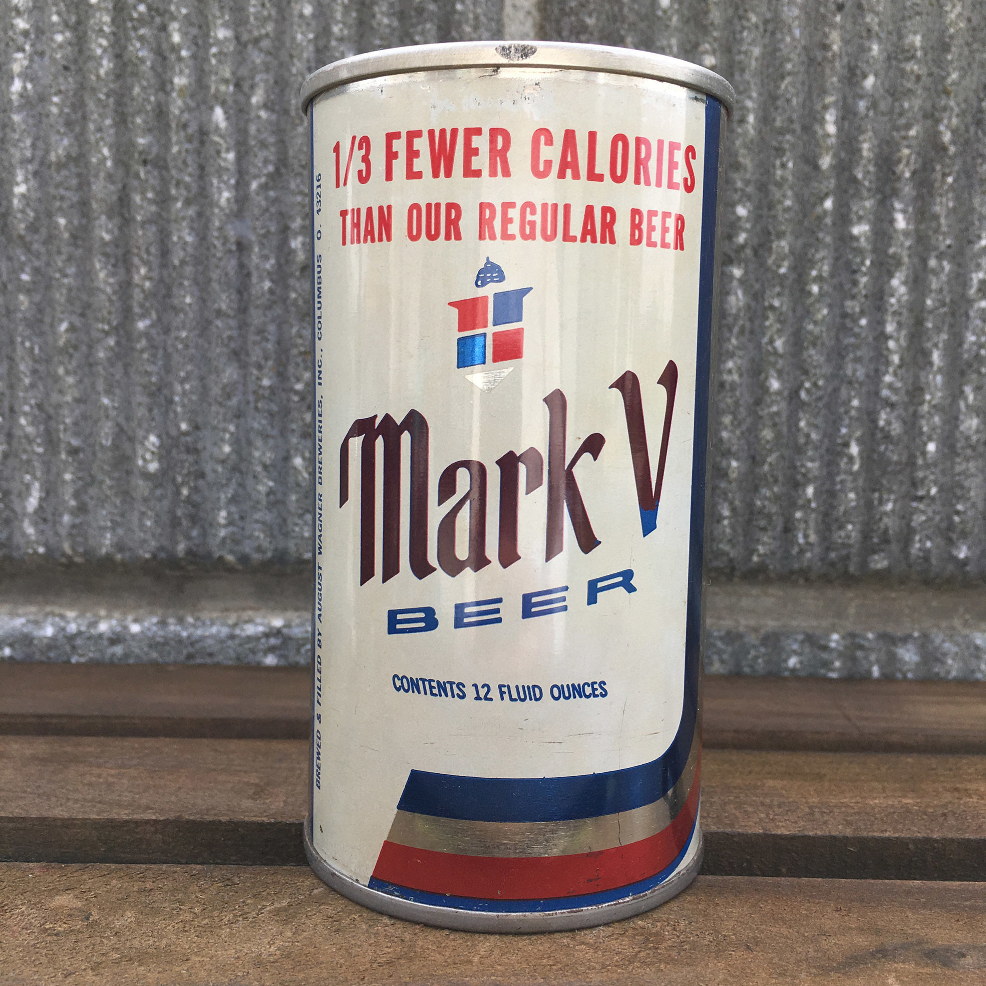 VINTAGE CAN Mark Ⅴ Beer Can/ヴィンテージ缶 マークファイブ ビアー缶/161011-4