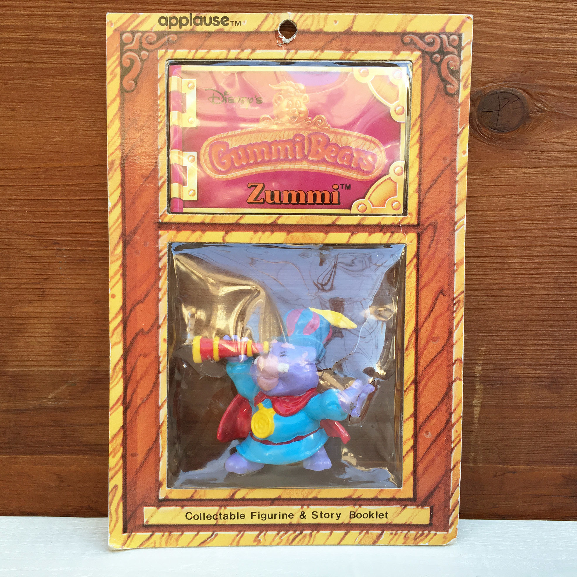Gummi Bears Zummi PVC Figure/ガミー・ベアの冒険 ザミー PVCフィギュア/171222-3