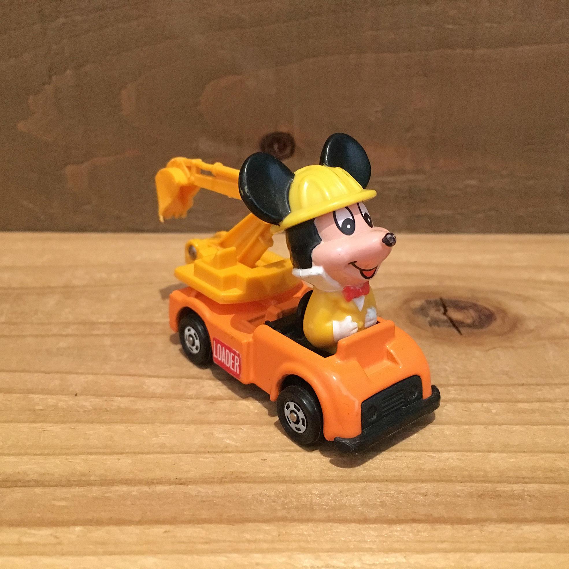 Disney Putica Mickey Mouse/ディズニー プチカ ミッキーのマイバックバックホー/180202-6