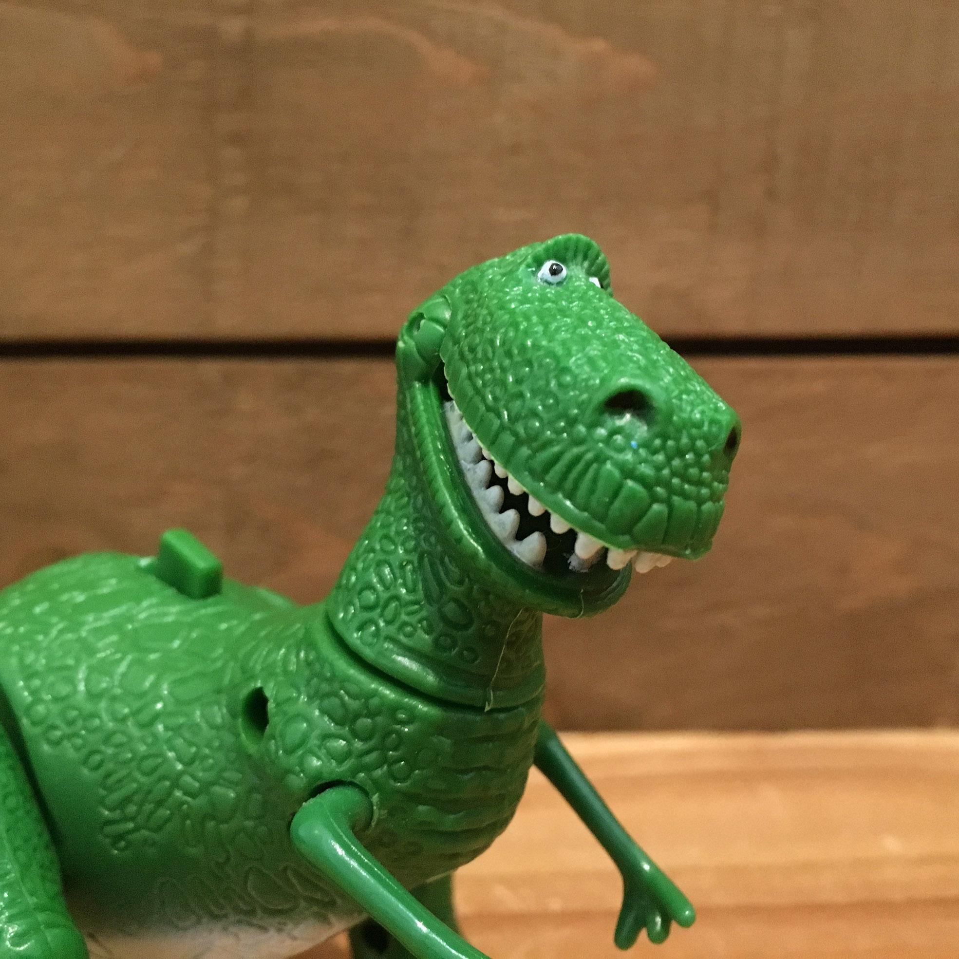 TOY STORY Rex Figure/トイストーリー レックス フィギュア/180227-3