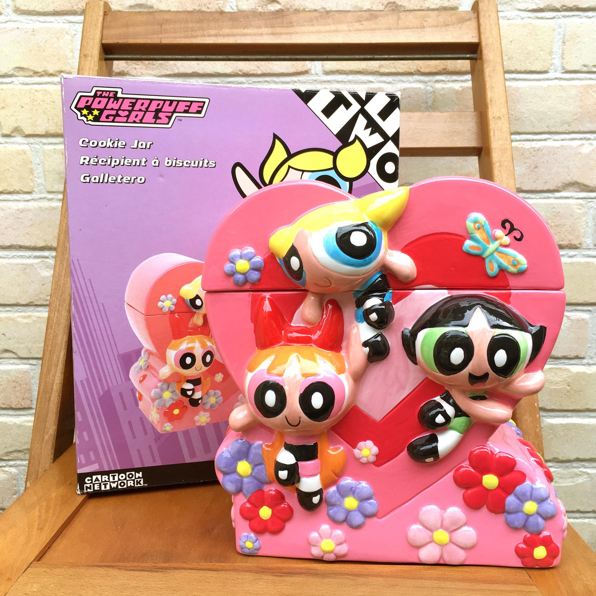 POWERPUFF GIRLS Cookie Jar/パワーパフガールズ クッキージャー/170927-8