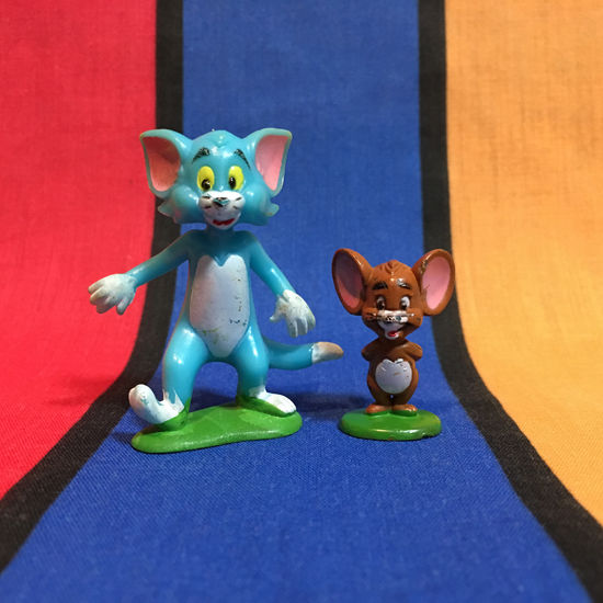 TOM&JERRY Tom&Jerry Mini Figure/トムとジェリー トムとジェリー ミニフィギュア/160223-4