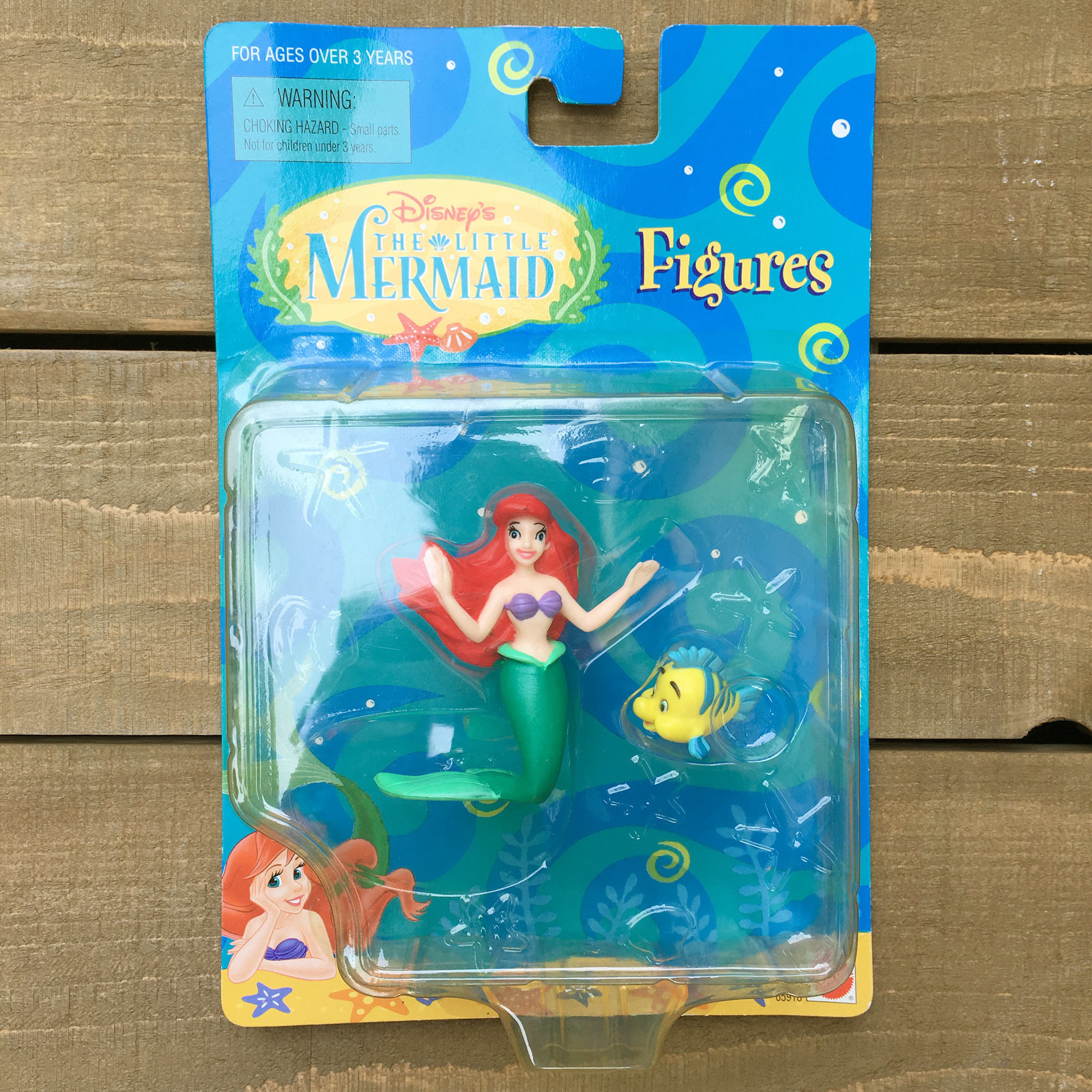 THE LITTLE MERMAID Ariel & Flounder Figure Set/リトルマーメイド アリエル&フランダー フィギュアセット/170506-2