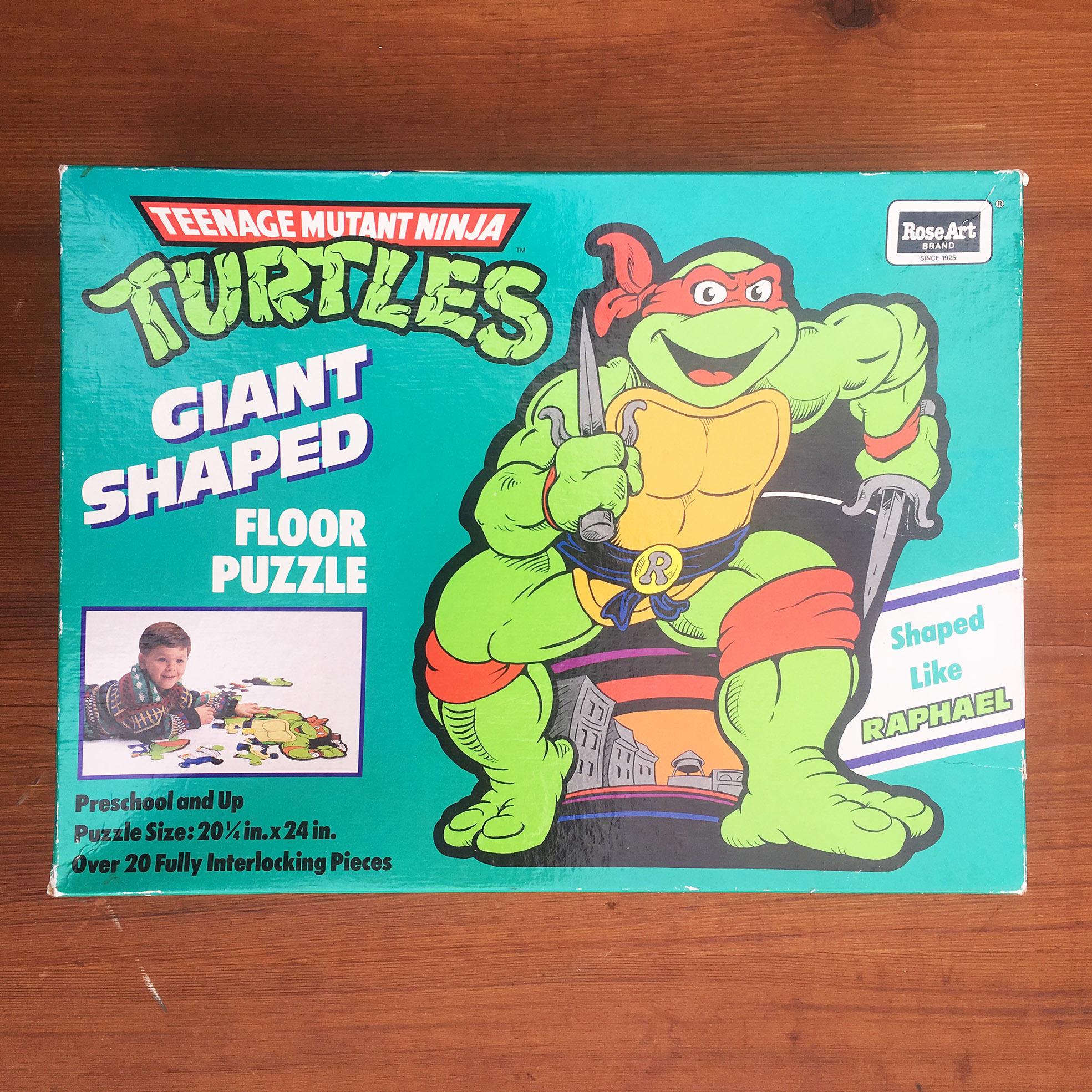 TURTLES Raphael Giant Floor Puzzle/タートルズ ラファエロ ジャイアントフロアパズル/180116-11