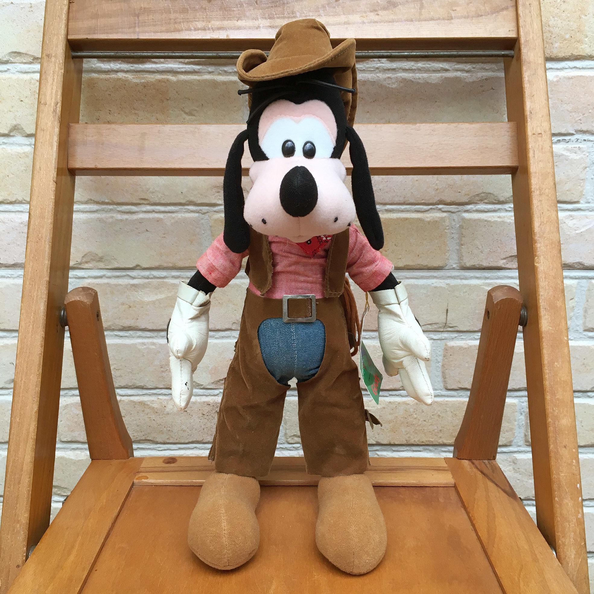 Disney Goofy Bendable Plush Doll/ディズニー グーフィー ベンダブルぬいぐるみ/171008-7