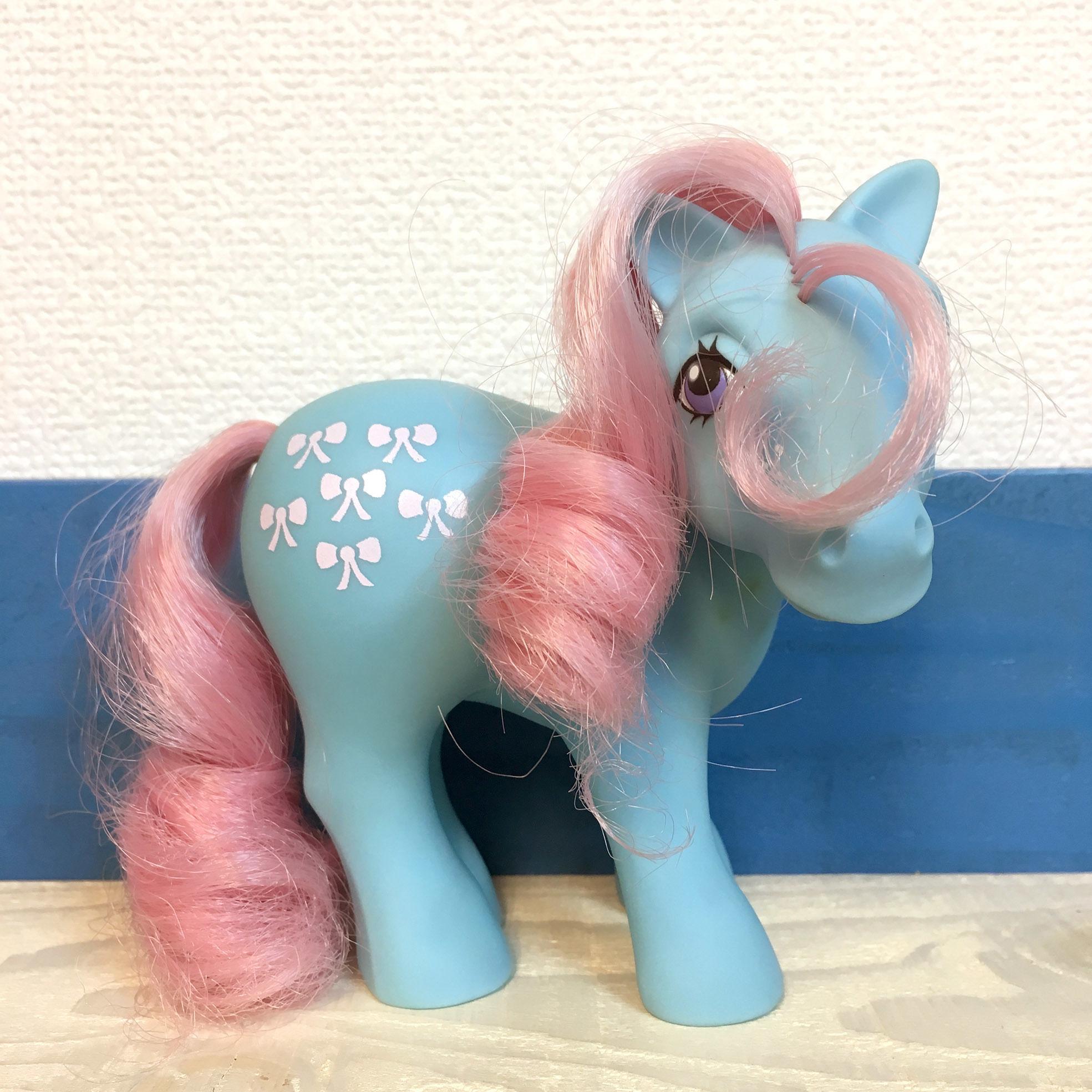 G1 My Little Pony Bowtie/G1マイリトルポニー ボウタイ/171103-5