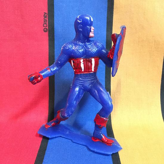 MARVEL Captain America Mexican Bootleg Figure/マーベル キャプテンアメリカ メキシカンブートレグフィギュア/160322-8
