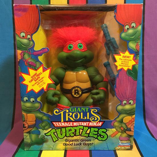TURTLES Giant Turtle Troll Raph/タートルズ ジャイアントタートルトロール ラファエロ フィギュア/160224-7