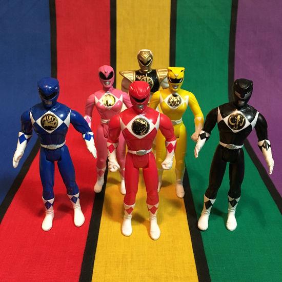 POWER RANGERS MM Power Rangers Figure Set/パワーレンジャー マイティモーフィンパワーレンジャー フィギュアセット/160123-1