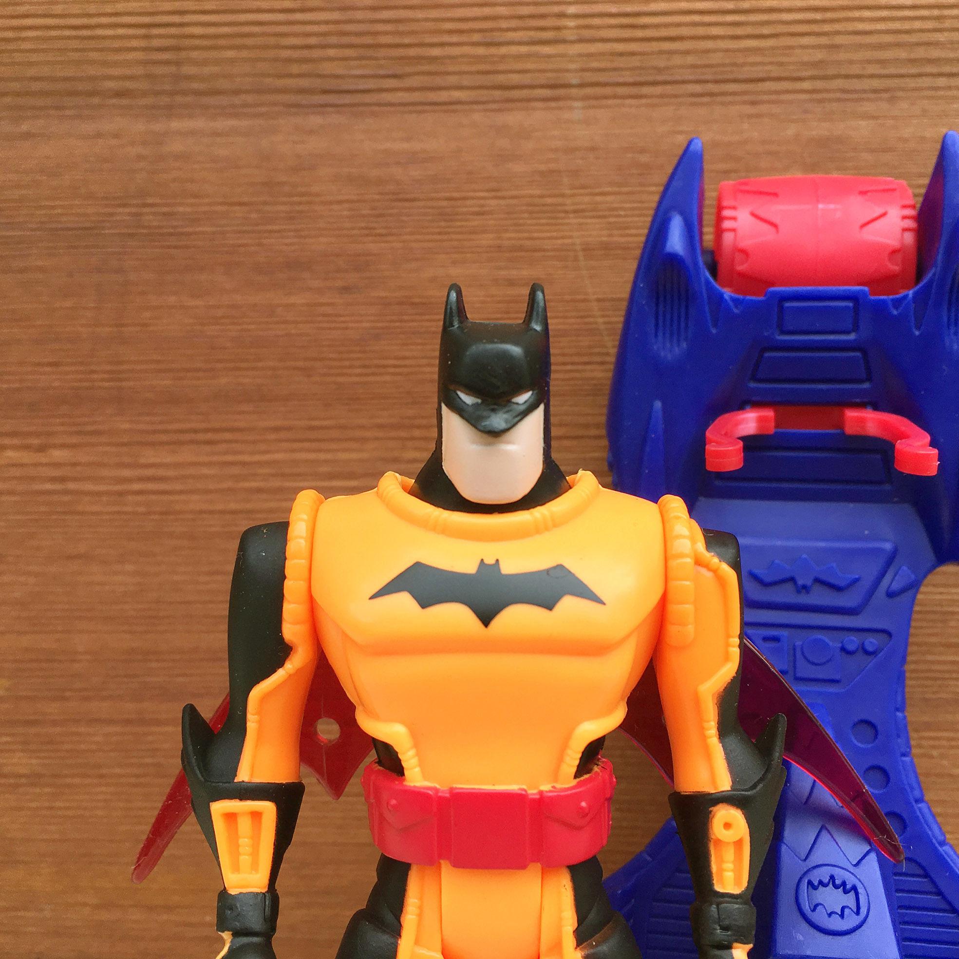 BATMAN Street Strike Batman Figure/バットマン ストリートストライク・バットマン フィギュア/180216-6