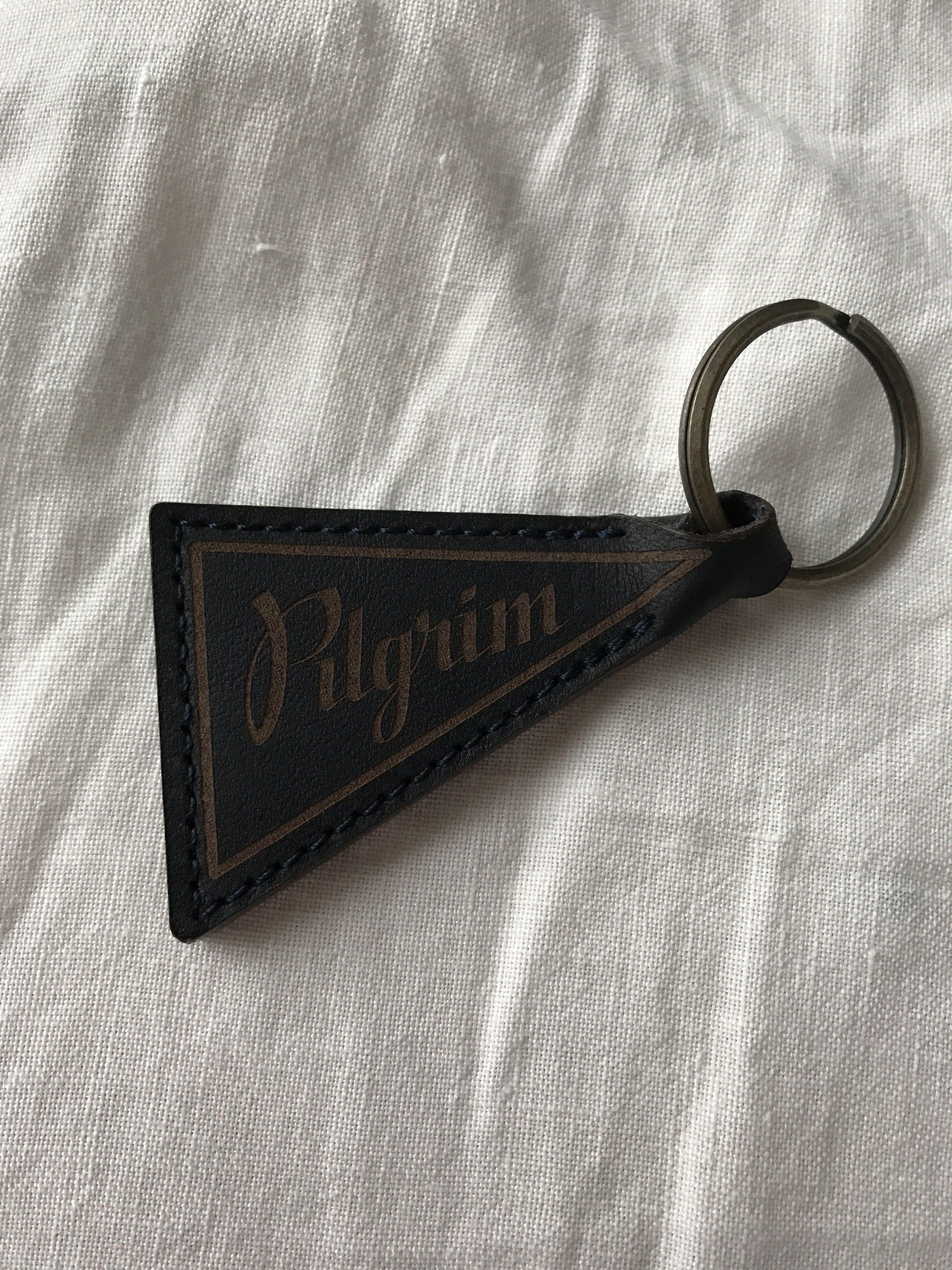 pilgrimsurf×MAKR コラボ Leather Key Holder