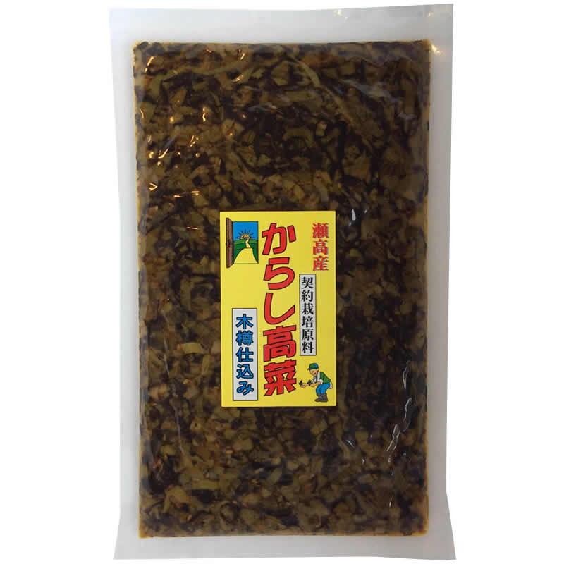 瀬高産 辛子高菜 250g