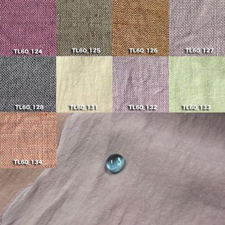 Fanage linen(天日干しリネン)100%生地 TL60  124~134 60番手使用