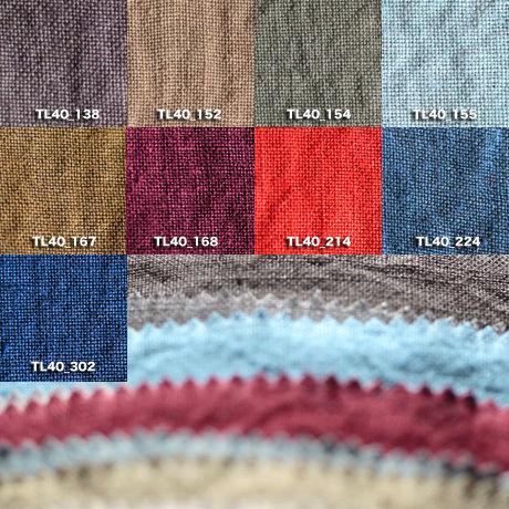 Fanage linen(天日干しリネン)100%生地 TL40  138~302 40番手使用