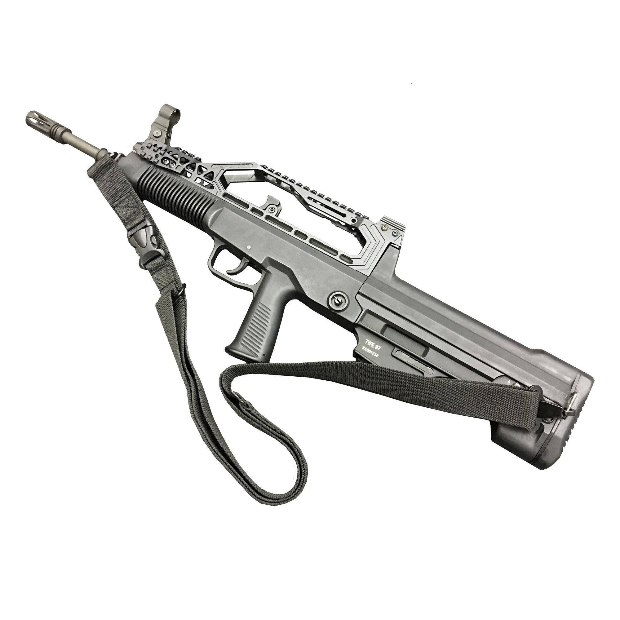 【実物】長弓(ロングボウ)レール 中国人民解放軍 QBZ-95(97)式自動歩銃用レール付きトップカバー