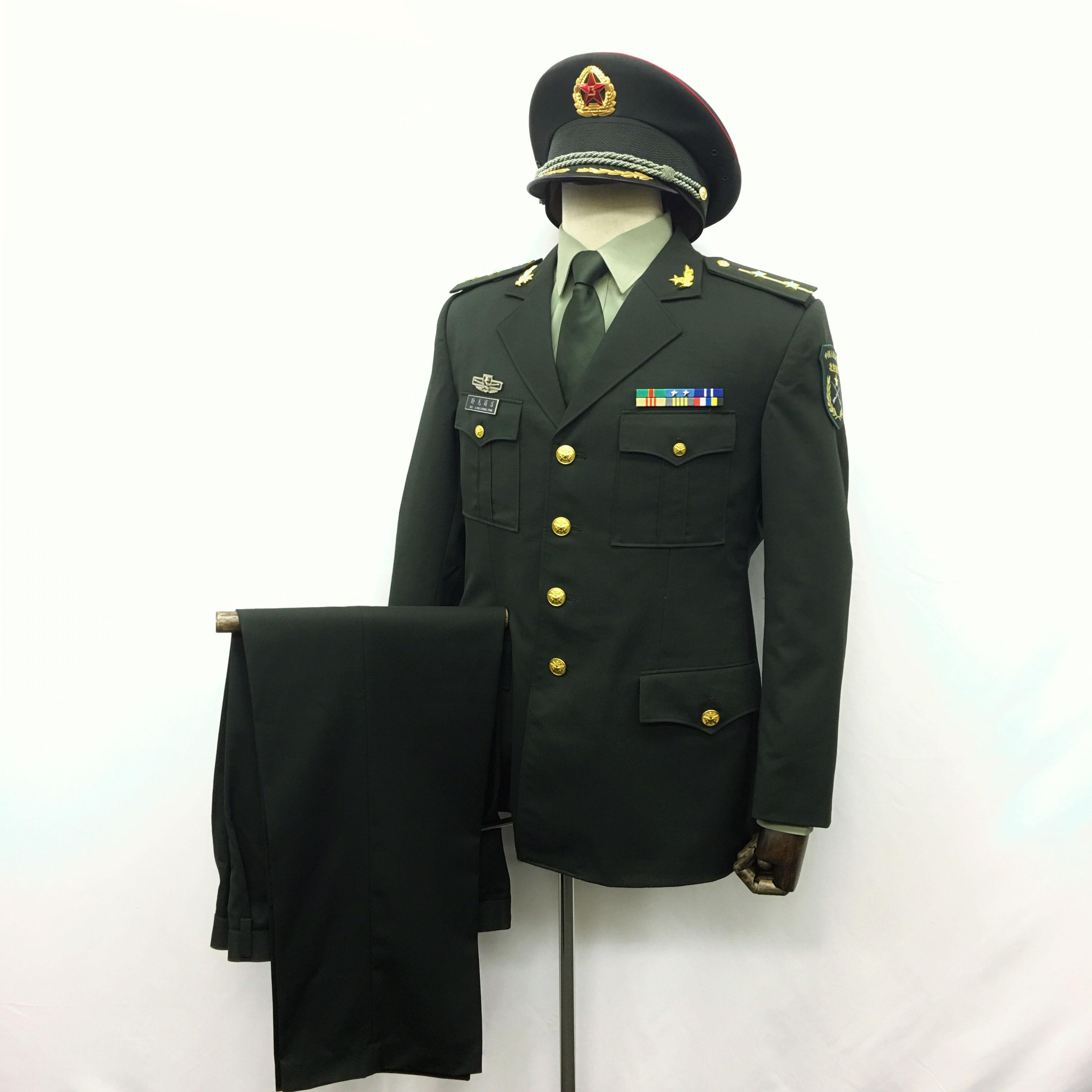 【送料無料】中国人民解放軍 07式陸軍 軍官春秋制服 一式セット