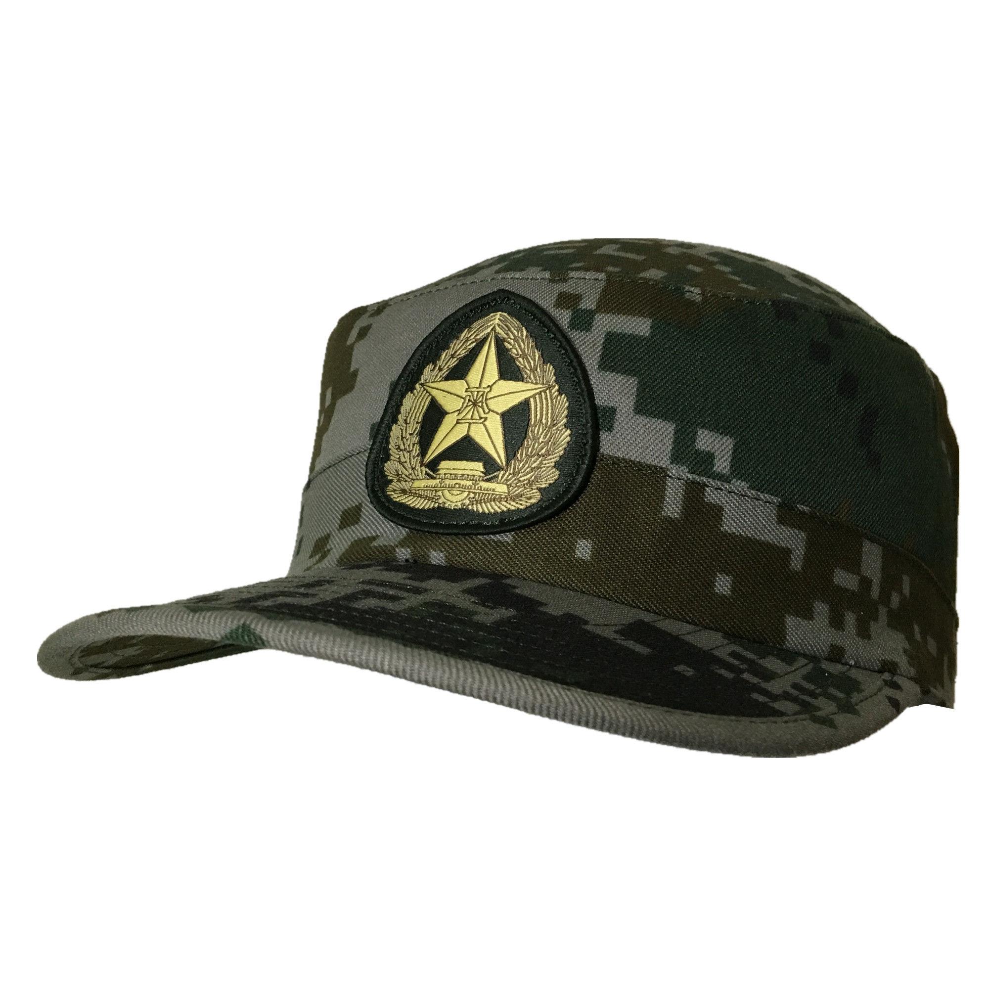 中国人民解放軍  07式 林地迷彩 帽子