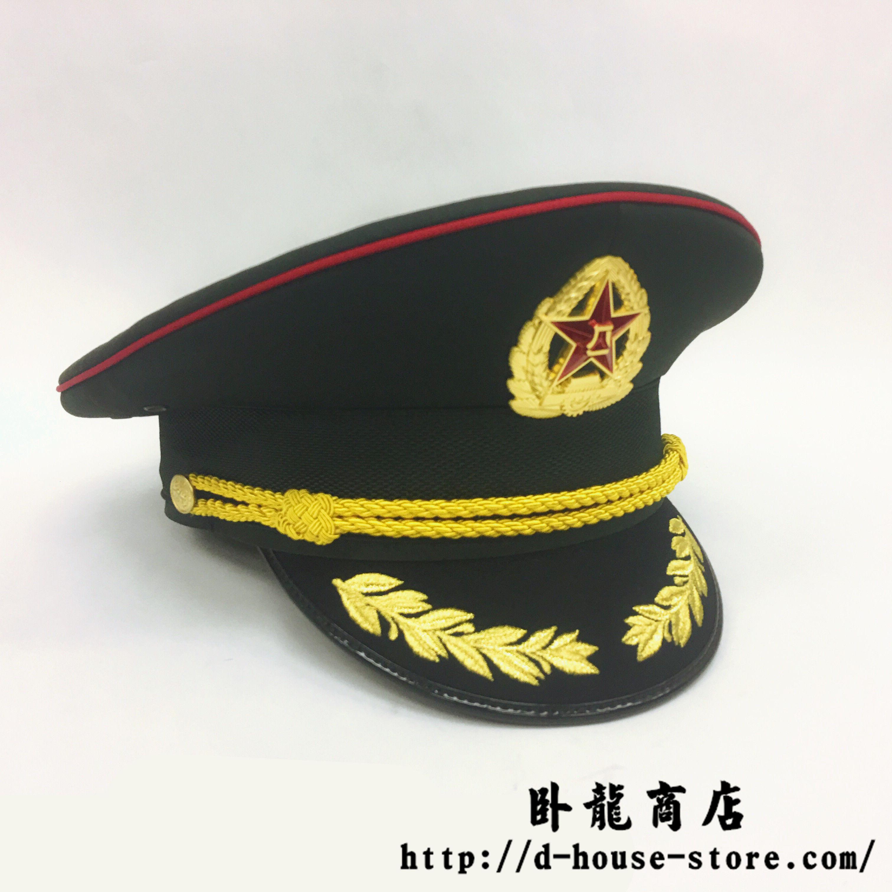 中国人民解放軍07式 陸軍軍官礼服用制帽(帽章付き)