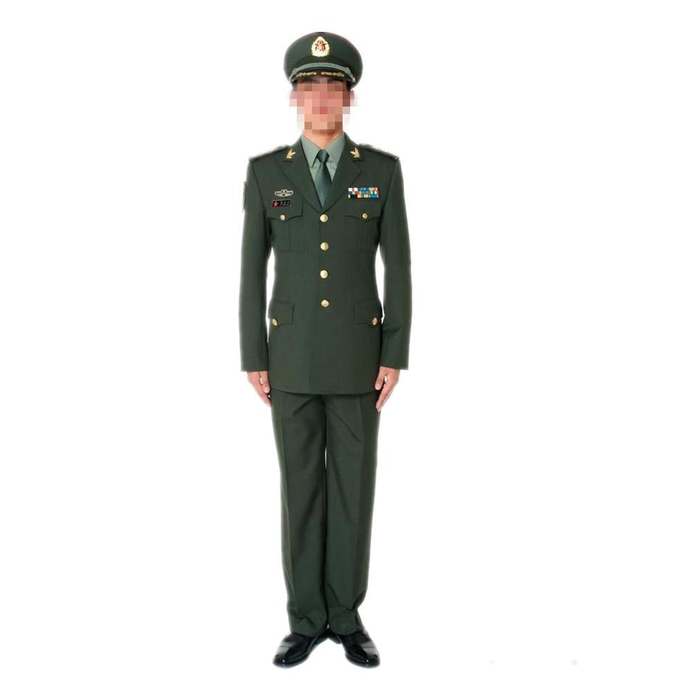 中国人民解放軍07式陸軍春秋制服上着&ズボンセット 軍官用
