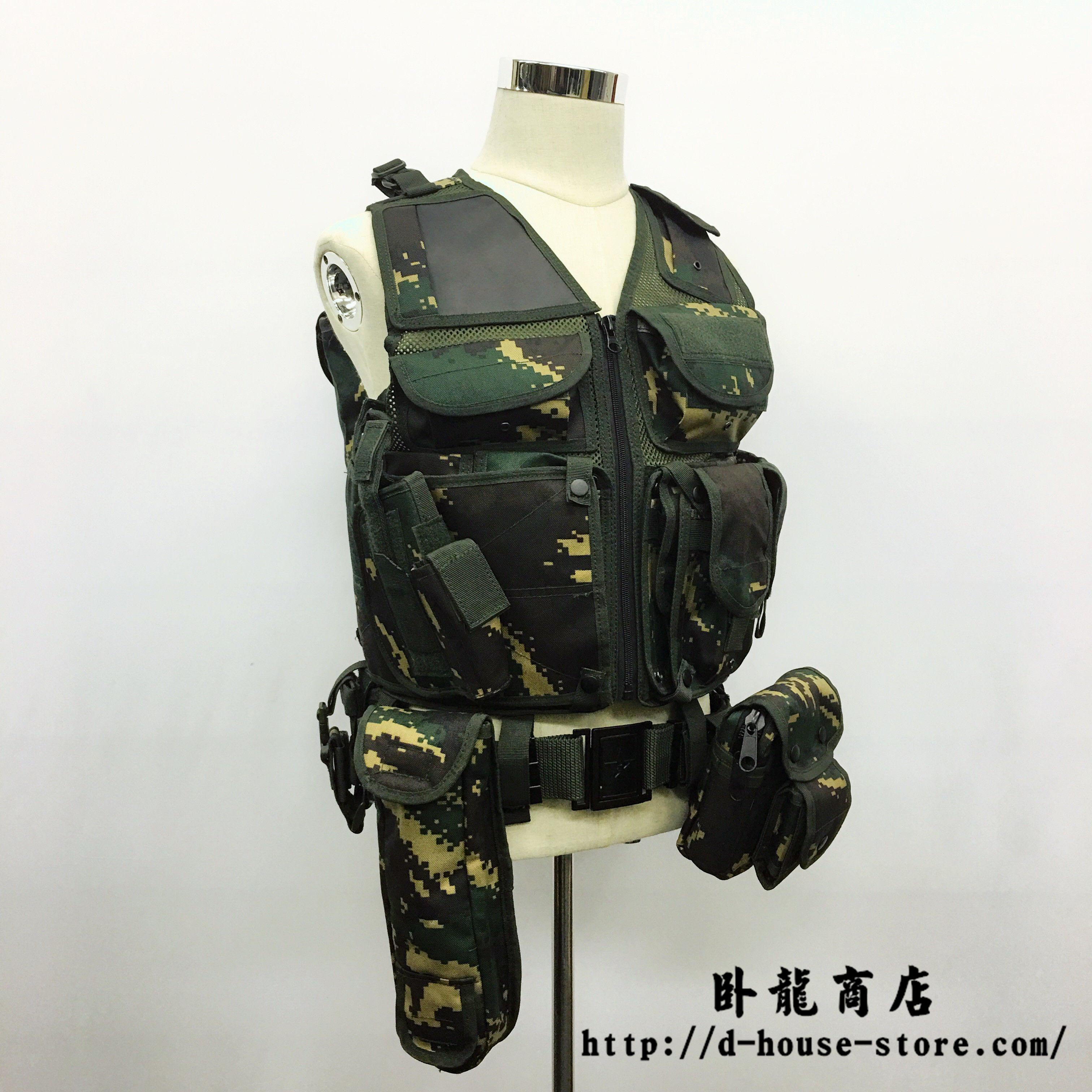 PLA 特種兵猟人迷彩10式Aベストセット