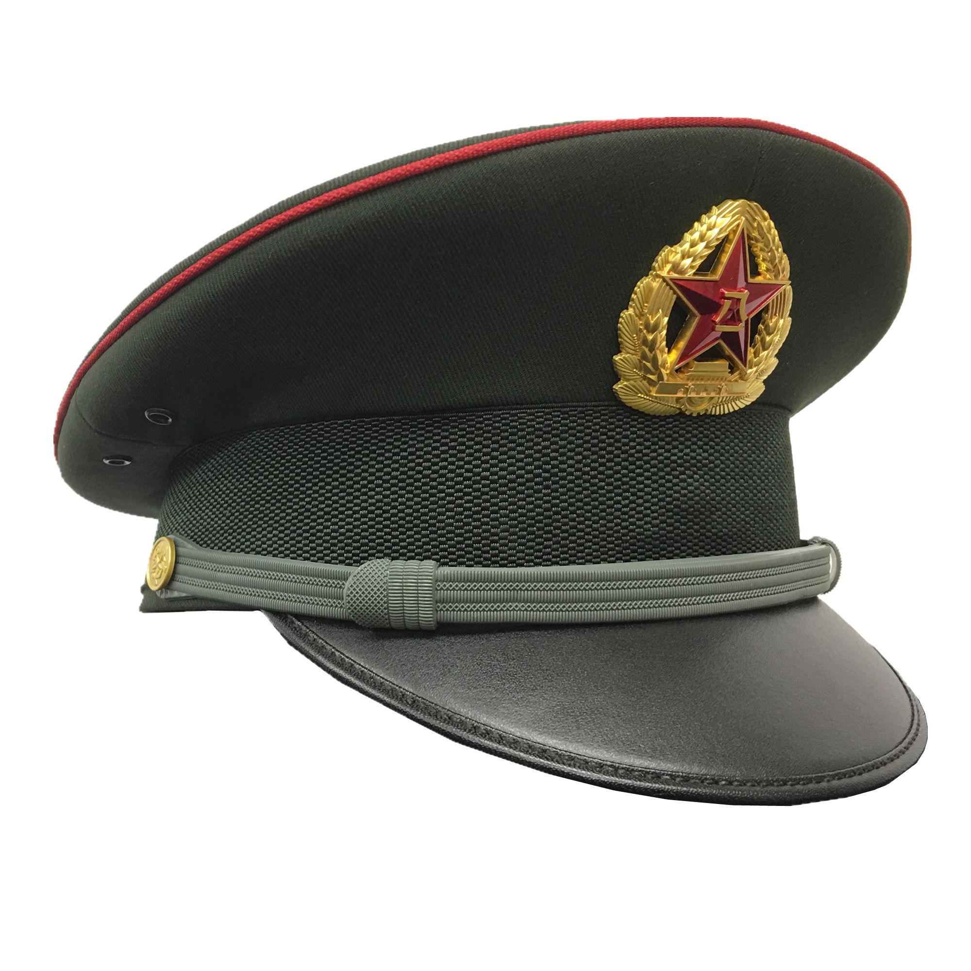 中国人民解放軍 07式制帽 陸軍兵士(帽章付き)