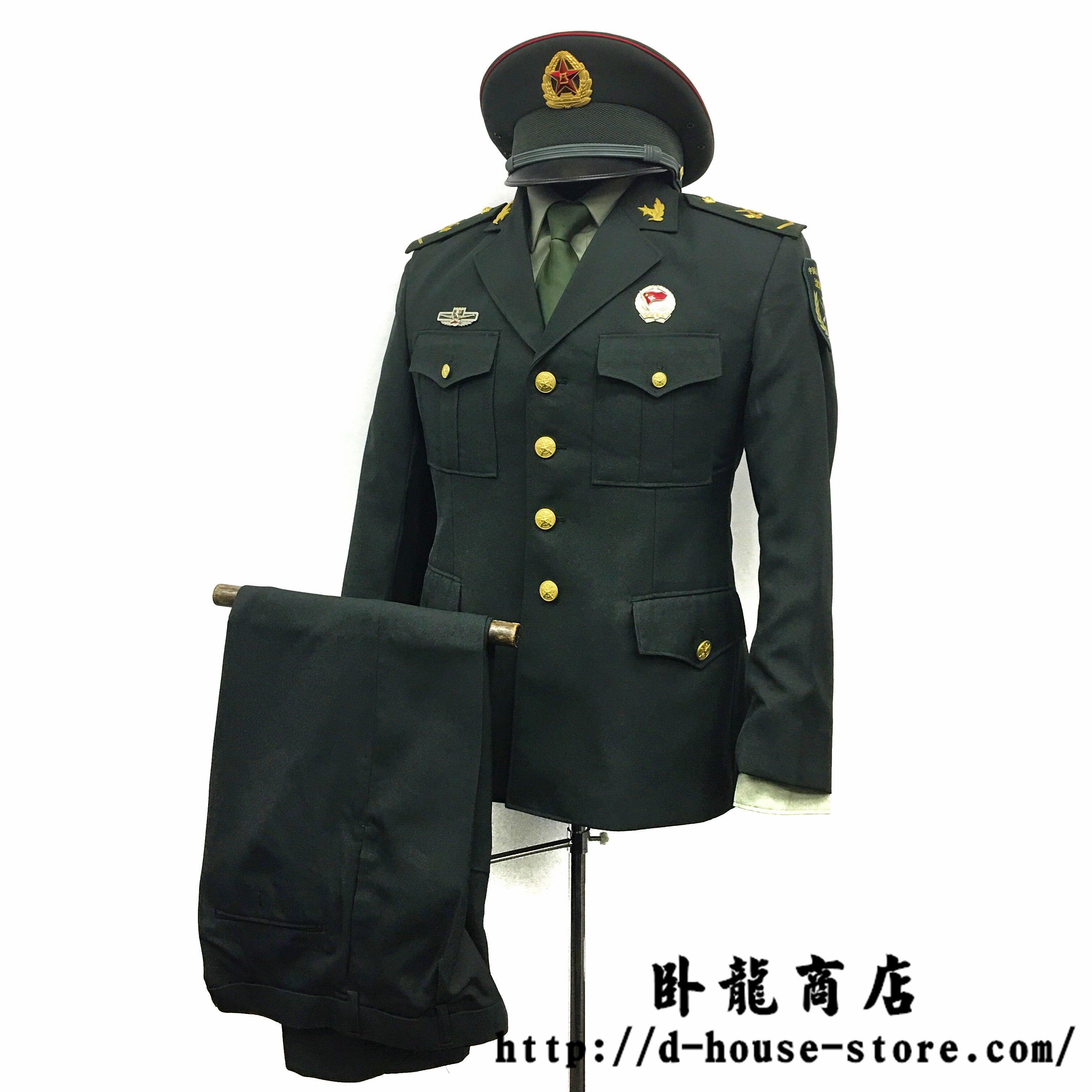 【送料無料】中国人民解放軍 07式陸軍 兵士春秋制服 一式セット