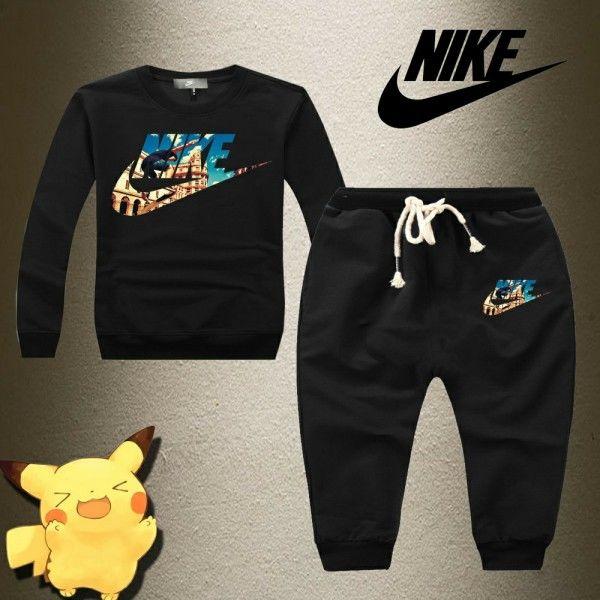 新入荷 ナイキ Nike セットアップ 子供 上下セット 大人気 キッズ用 美品 春 春物 春冬 4色