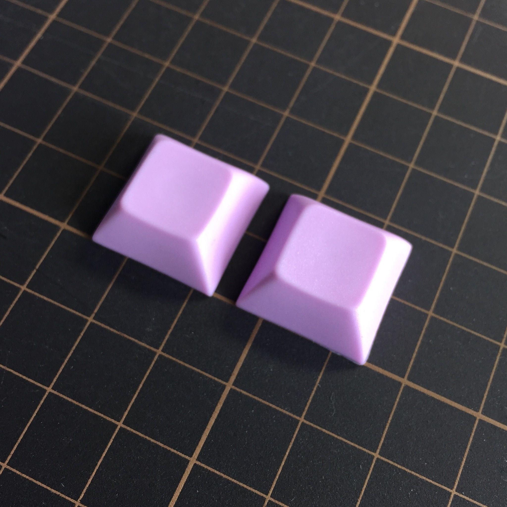 DSA PBT Keycap (2Piece/Light Purple)