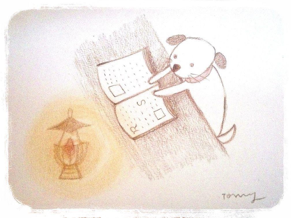 ポストカード*犬の、物語。  Tomy