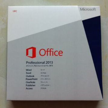 Microsoft Office Professional 2013 [パッケージ] [Windows版]  [新品未開封]