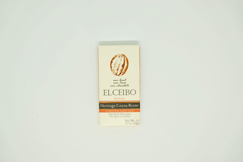 EL CEIBO Bolivia  ヘリテイジカカオチョコレート 20g